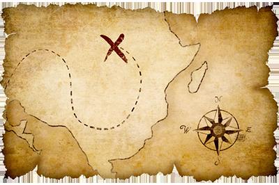 the hunt for lost treasure