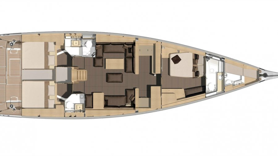 Skyfall_Yacht_Charter_dufour_56_Layout